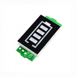 Blue Charge Level Indicator Module for 2S LiPo Batteries (8.4 V Full Charge)