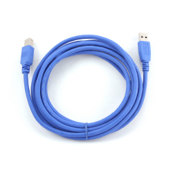 USB 3.0 A-plug B-plug 6ft cable