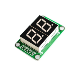 74HC595 2 Digits 7 Segment LED Display
