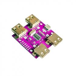 4 Port USB Hub with I2C Interface