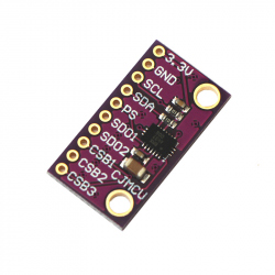 BMX055 9DoF Inertial Sensor Module with SPI and I2C Interface (Accelerometer, Gyroscope and Compass)