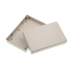 White Plastic Case (125x80x32 mm)