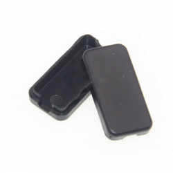 Black Plastic Case (40x20x11 mm)