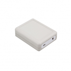 White Plastic Case (90x70x28 mm)