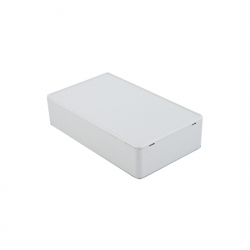 White Plastic Case (100 x 60 x 25 mm)