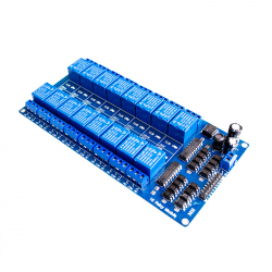 Module with 16 Relays and LM2576 Power Supply (12 V Trigger)
