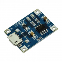 TP4056 1-cell LiPo Charger Micro USB