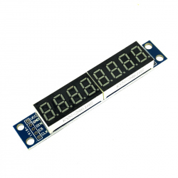 MAX7219 8-Digit LED Display
