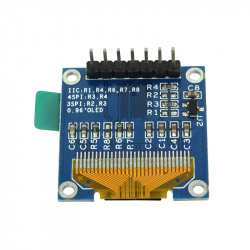 Yellow and Blue 0.96'' OLED Module (128x64 px)