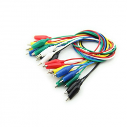 Colored Alligator Clip Cable
