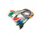 Colored Alligator Clip Cable