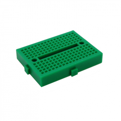 SYB-170 Colored Mini Breadboard (green)