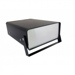 Black Metal Case with Handle  (160 mm x 210 mm x 70 mm)