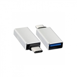 Silver Color USB 3.1 Type C Adapter
