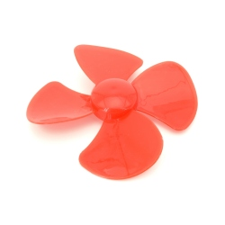 80 mm Red Propeller
