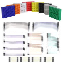 Breadboard Kit, 170 Tie Points, 108 Pieces