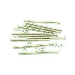 Set 10 Șuruburi de 30 mm cu Piuliță M2