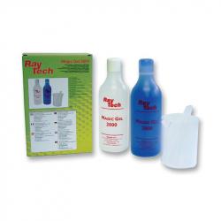 MAGIC GEL 300 -  Bi-Component Polymer Gel, Magic Gel®, Silicone, Bottle, Blue, 300 ml