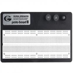 Breadboard, Solderless, 840 Tie Points, Plastic, 177.8mm x 101.6mm