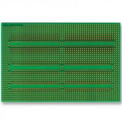 Prototyping Board, SMT Adaptor, FR4, Epoxy Glass Composite, 152.4mm x 101.6mm