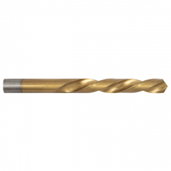 Set of 2 Metal Drill HSS 6542 Titanate