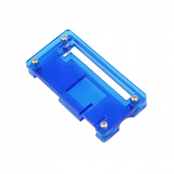 Blue Plastic Case for Raspberry Pi Zero