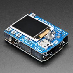 """Shield cu Display Color Adafruit de 1.8"""" cu Slot MicroSD si Joystick"""