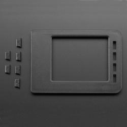 Capac și Butoane pentru Carcasă Transparentă Adafruit pentru Raspberry Pi Model B+ / Pi 2 / Pi 3