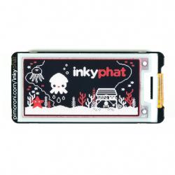 Inky pHAT Display ePaper eInk Galben/Negru/Alb