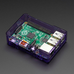 Pi Model B+ / Pi 2 / Pi 3 Case Base - Purple