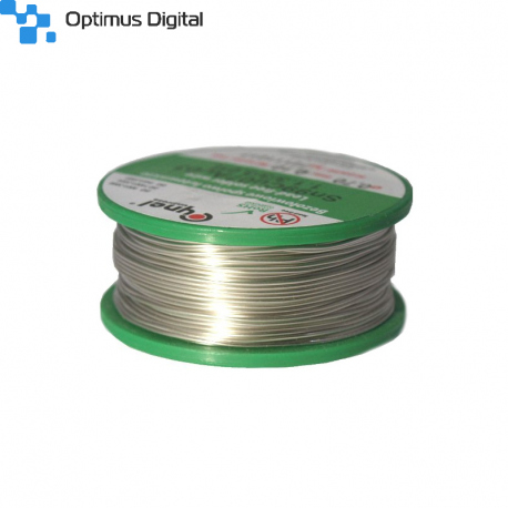 No Pb Soldering Wire Sn 99 Cu 07 Ag 03 with a 0.5 mm Diameter (100 g)