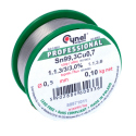 Lead Free Soldering Wire Sn 99.3 Cu 0.7, with a 0.5 mm Diameter