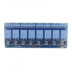 Blue Optoisolated 8 Relay Module
