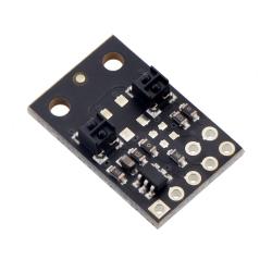 QTRX-MD-02A Reflectance Sensor Array: 2-Channel, 8mm Pitch, Analog Output, Low Current