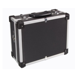 ALUMINIUM TOOL CASE - 320 x 230 x 155 mm - BLACK