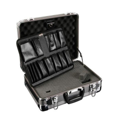TOOL CASE WITH ALUMINIUM ROUND CORNERS - 430 x 330 x 155 mm