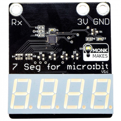 7-Segment for micro:bit RGB LED for micro:bit