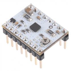 STSPIN220 Low-Voltage Stepper Motor Driver (Header Pins Soldered)