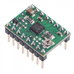 STSPIN820 Stepper Motor Driver (Header Pins Soldered)