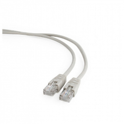 CAT5e UTP Patch cord, gray, 1 m