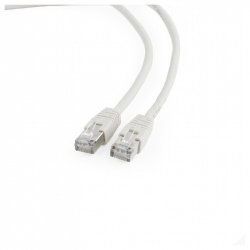 FTP Cat6 Patch cord, gray, 1 m