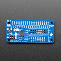 Adafruit GPIO Expander Bonnet - 16 Additional I/O over I2C