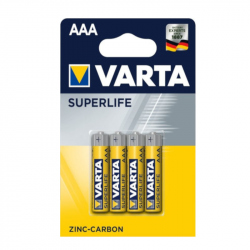 Pack of 4 R03 Varta Superlife