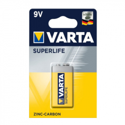 9V Varta Superlife 6F22 battery