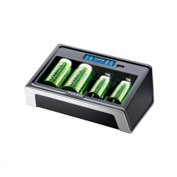 Universal Varta charger with LCD, 57678