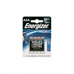 Pack of 4 R03 Energizer Ultimate L92 AAA Lithium Battery