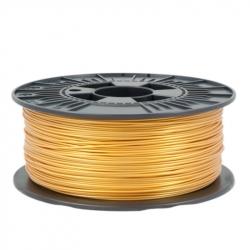 1.75 mm, 1 kg PLA Filament For 3D Printer - Light Gold - Unwrapped