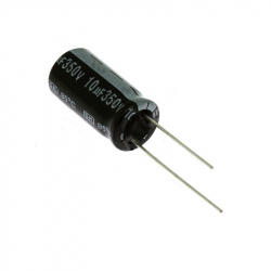 Electrolitic Capacitor 10 uF, 350 V