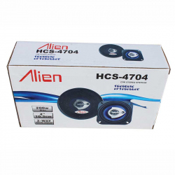 Set of 2 Auto Speakers 4'' 4704