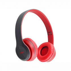 Red Headphones 8407